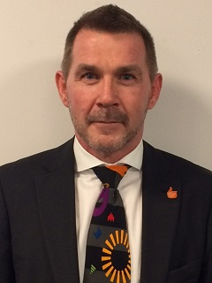 Image of new Director of Children and Families Steve Walker