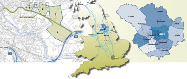 map of the Enterprise Zone