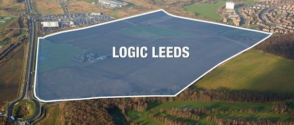 Logic Leeds aerial view