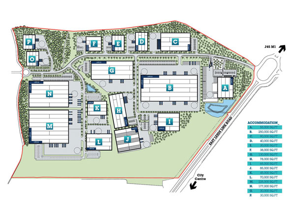 logic leeds site plan