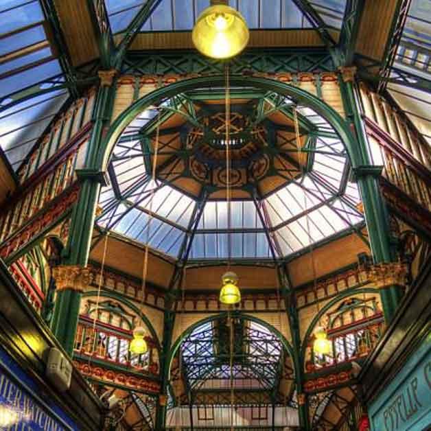 Kirkgate market inside