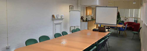 the meeting room in the Kirkgate suite